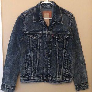 Levi's Trucker Denim Jacket Acid Wash Blue